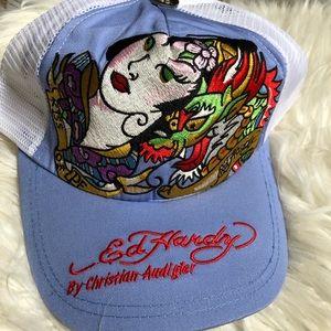 Ed Hardy Christian Audigier Snapback Hat